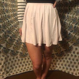 Brandy Melville Soft Pink skirt